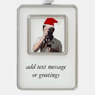 Fotógrafo del navidad adornos navideños
