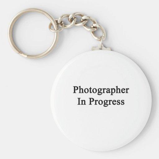 Fotógrafo en curso llaveros