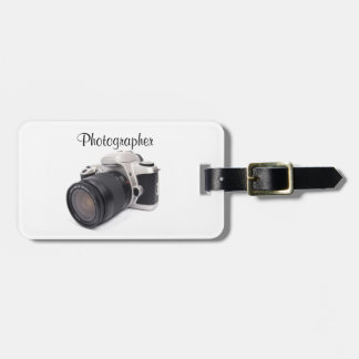 Fotógrafo - etiqueta del equipaje etiquetas para maletas