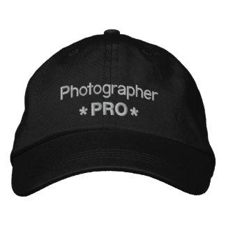 Fotógrafo favorable gorra bordada