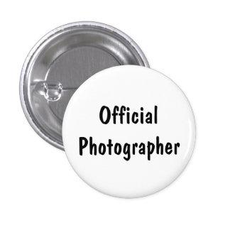 Fotógrafo oficial pin