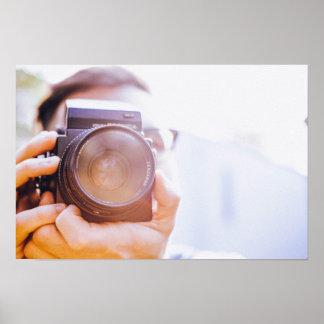 fotógrafo póster
