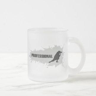 Fotógrafo profesional 1 taza de cristal