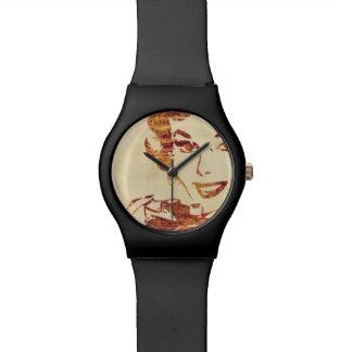 Fotógrafo retro relojes de pulsera