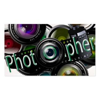 Fotógrafo Tarjetas De Visita