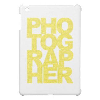 Fotógrafo - texto amarillo