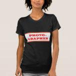 FOTÓGRAFO: Texto Camiseta