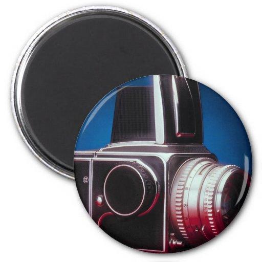 Fotógrafos medios del profesional de la cámara del imán de frigorifico