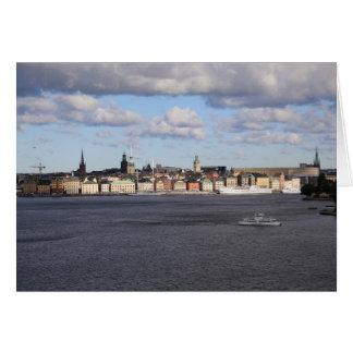 Fotokarte Gamla Stan, Estocolmo Tarjeta Pequeña