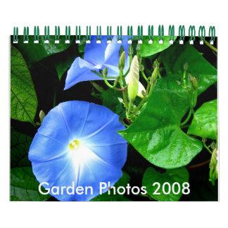 Fotos 2008 del jardín calendario