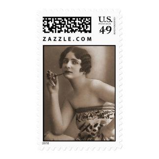 Fotos antiguas de las mujeres de la aleta del sello