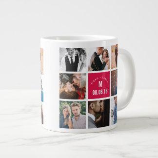 Fotos casadas taza personalizadas de la foto