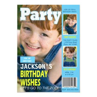 Fotos de la portada de revista 3 de la invitación