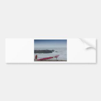 Fotos de las imágenes de HDR de la playa del mar Pegatina Para Auto