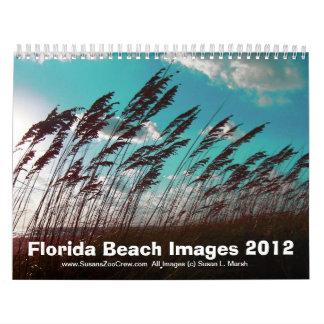 Fotos de las imágenes de la playa de la Florida Calendarios De Pared