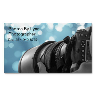 Fotos de Lynn Tarjetas De Visita Magnéticas (paquete De 25)