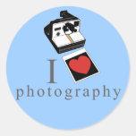 Fotos del corazón I Etiqueta Redonda