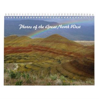 Fotos del gran noroeste calendarios