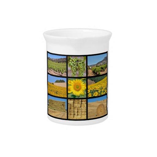 Fotos del mosaico del cultivo jarra