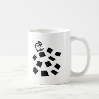fotos del vuelo tazas de café