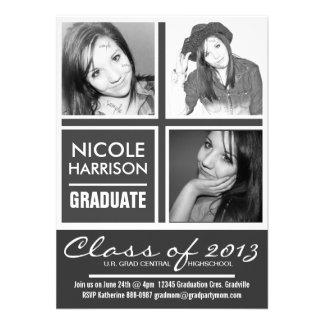 Fotos intrépidas del fiesta 3 del graduado de la M Invitacion Personalizada