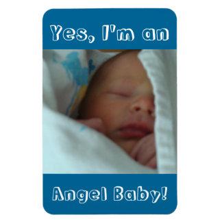 Fotos llevadas nuevo nacimiento del bebé de los imán rectangular