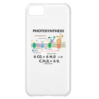Fotosíntesis (fórmula química) funda para iPhone 5C