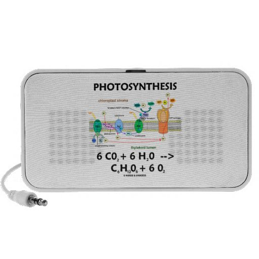 Fotosíntesis (fórmula química) mini altavoz