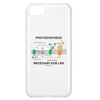 Fotosíntesis necesaria para la vida dependiente de funda para iPhone 5C