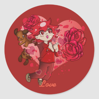FOTS Sticker Collection: Love
