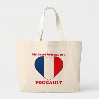 Foucault Bolsa Tela Grande