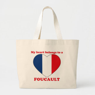 Foucault Large Tote Bag