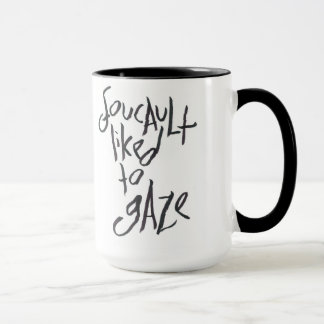 Foucault Liked To Gaze Mug