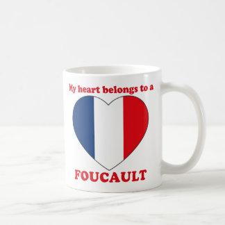 Foucault Classic White Coffee Mug