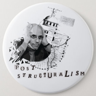 Foucault Pinback Button