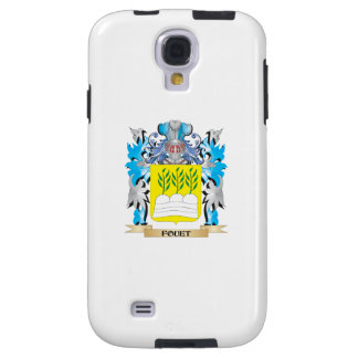 Fouet Coat of Arms - Family Crest Galaxy S4 Case