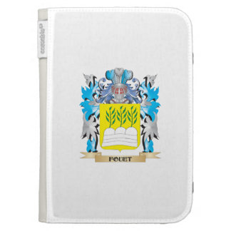 Fouet Coat of Arms - Family Crest Kindle Cover