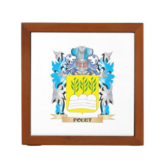 Fouet Coat of Arms - Family Crest Pencil/Pen Holder