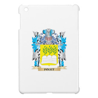 Fouet Coat of Arms - Family Crest Cover For The iPad Mini