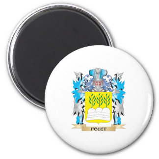 Fouet Coat of Arms - Family Crest Refrigerator Magnet