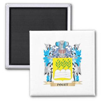 Fouet Coat of Arms - Family Crest Fridge Magnet
