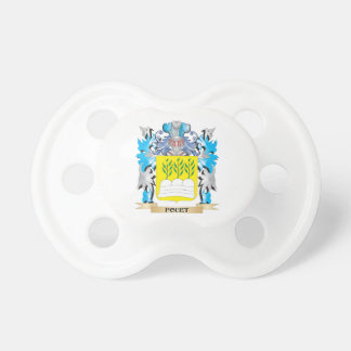 Fouet Coat of Arms - Family Crest Baby Pacifier