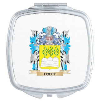 Fouet Coat of Arms - Family Crest Mirrors For Makeup