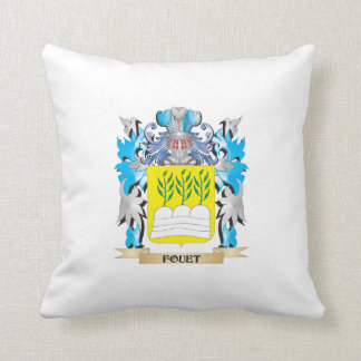Fouet Coat of Arms - Family Crest Pillows