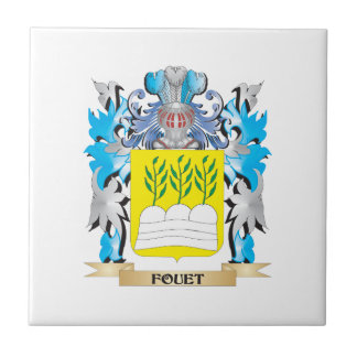 Fouet Coat of Arms - Family Crest Ceramic Tiles