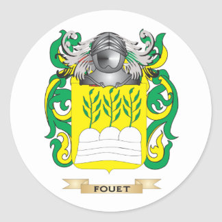 Fouet Coat of Arms Stickers