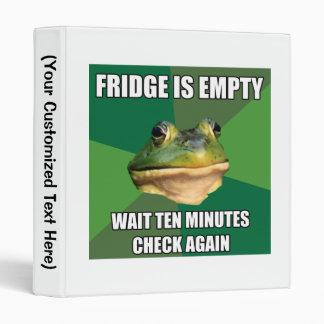 Foul Bachel Frog Empty Fridge Binder