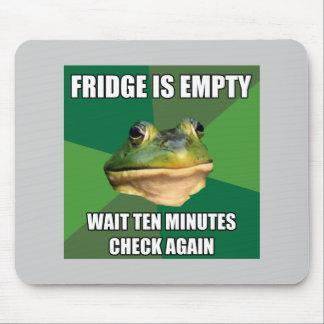 Foul Bachel Frog Empty Fridge Mouse Pad