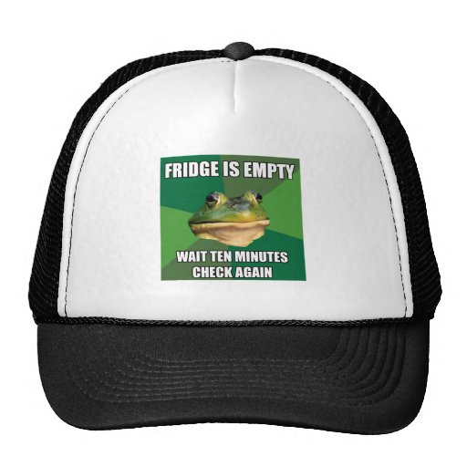 Foul Bachel Frog Empty Fridge Trucker Hat