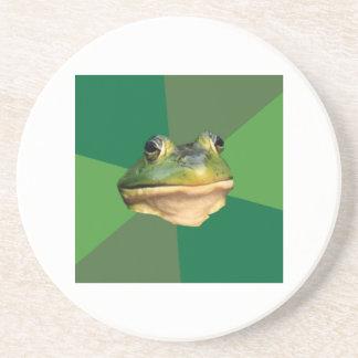 Foul Bachelor Frog Advice Animal Meme Drink Coasters
